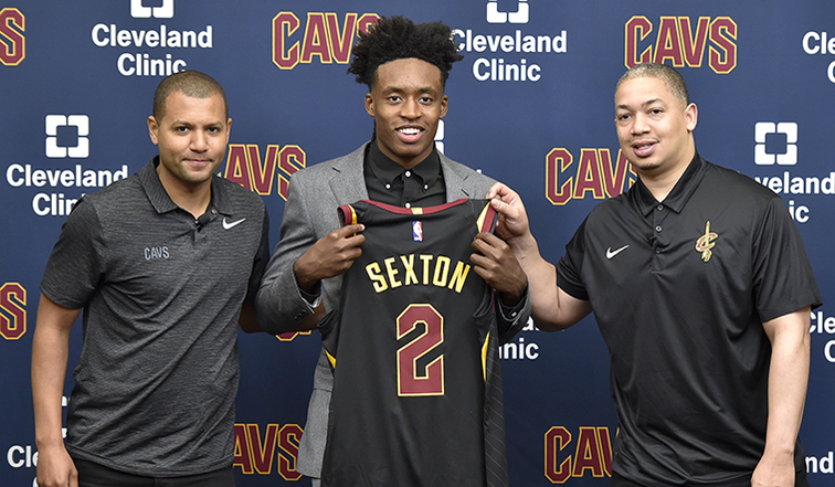 Cleveland Cavaliers Introduce Collin Sexton