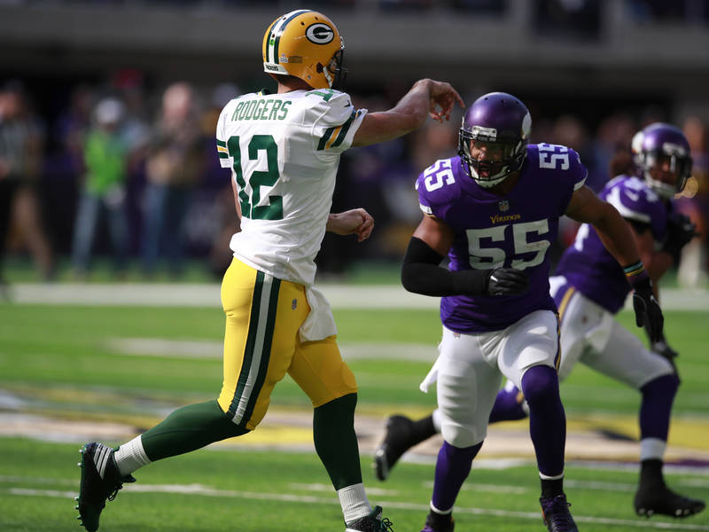 Aaron Rodgers, Anthony Barr