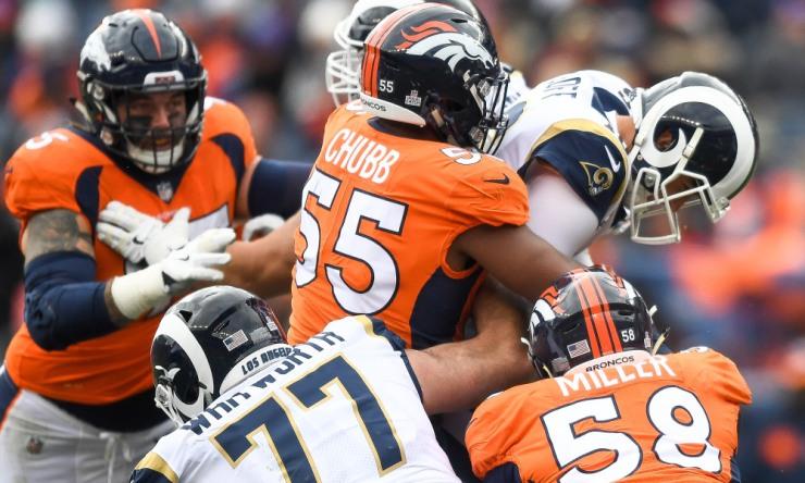 Los Angeles Rams v Denver Broncos